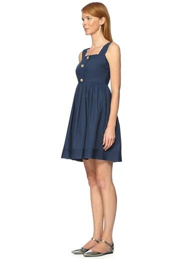 Askılı Kloş Elbise-Darling